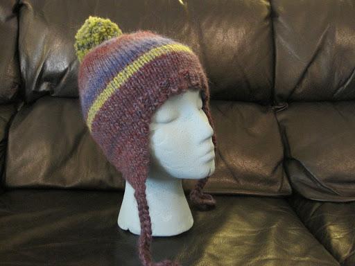 My Classic Ear Flap Hat Alaska Knit Nat