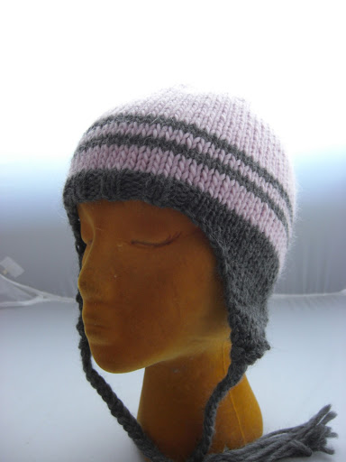 My Classic Ear Flap Hat Alaska Knit Nat
