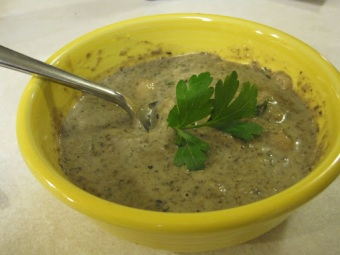 Cream of Porcini Soup