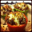 Pepper Stuffed with Italian Sausage