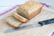 Lemon Almond Quick Bread
