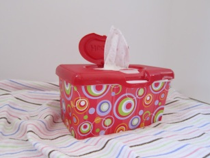 Homemade Cloth Baby Wipes