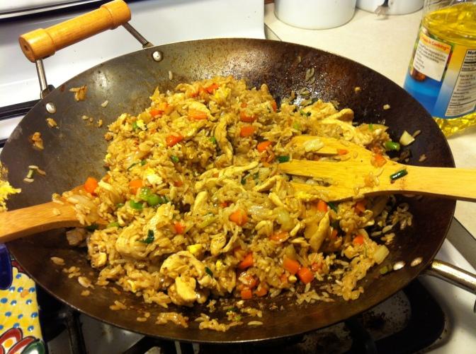 Benihana-style Fried Rice