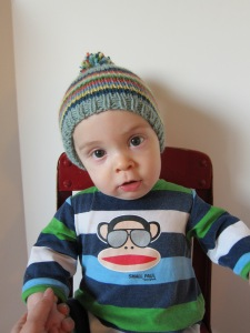 Baby Striped Hat 2