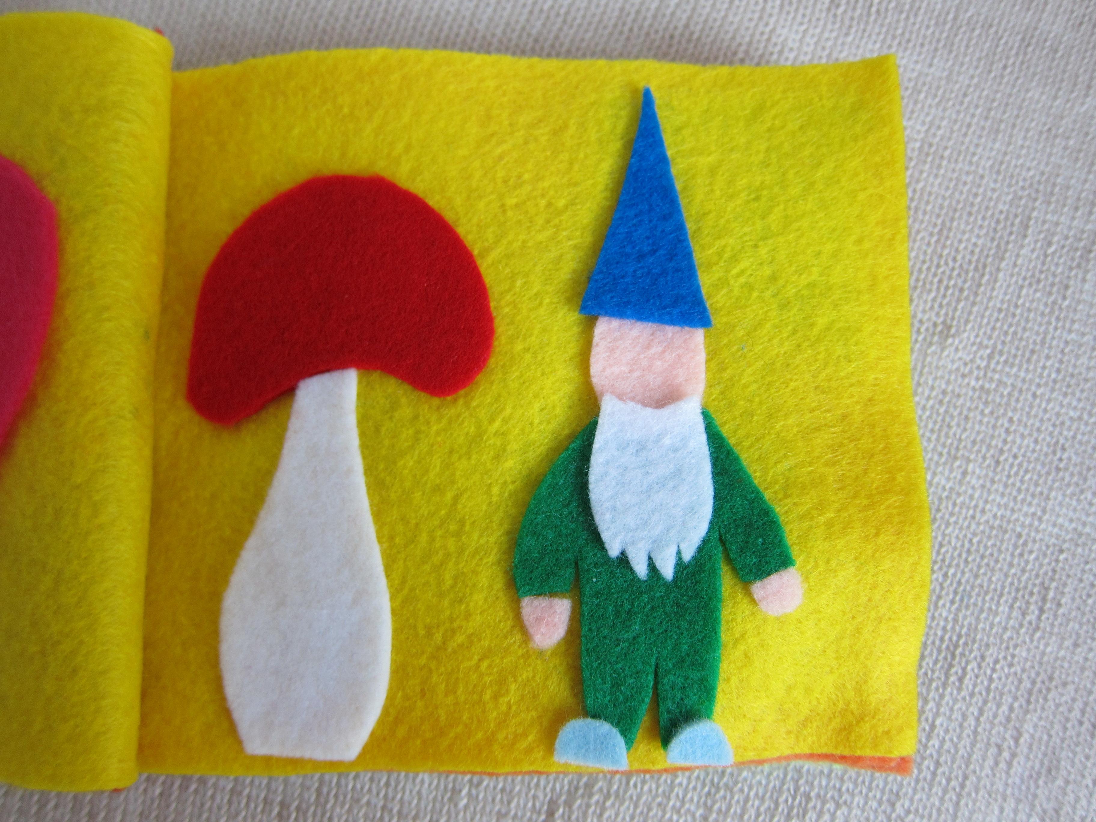 Felt craft book - Advertisements
