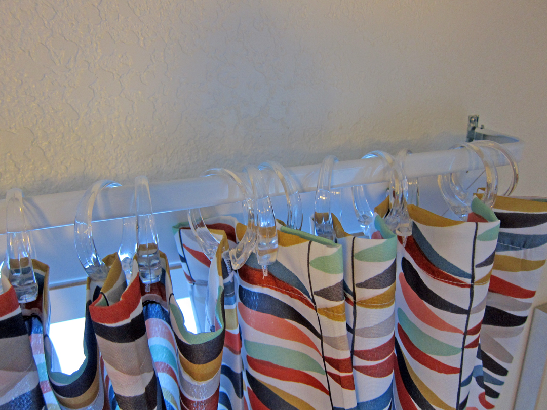 Shower Curtains as Window Treatments