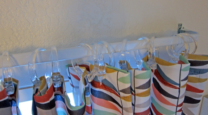 Nifty Thrifty — Shower Curtain Curtains