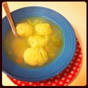 Almost Homemade Mazto Ball Soup