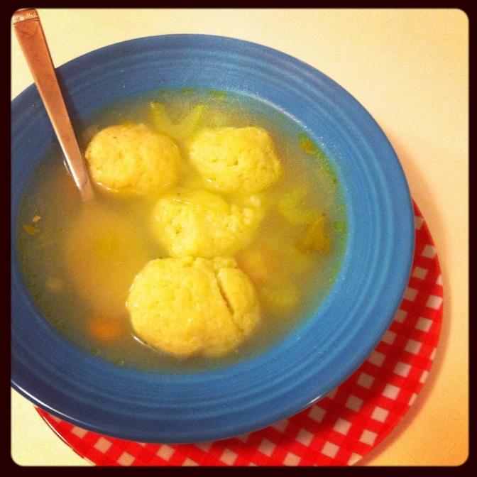 Almost Homemade Matzoh Ball Soup