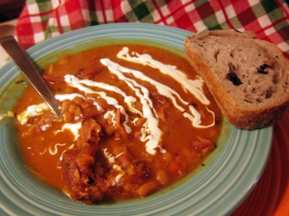 Leftover Hambone Soup