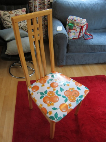 Mexican Oilcloth Dining Chairs