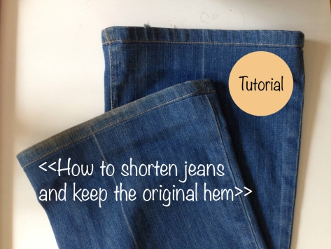 The Best Way to Hem Jeans