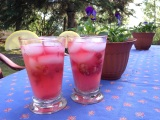 Strawberry Rhubarb Lemonade