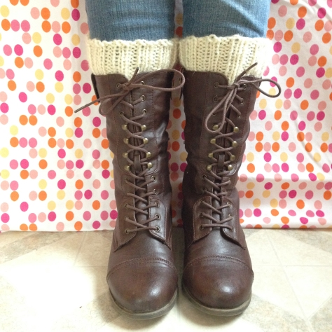 Simple Knitted Boot Cuffs from Alaska Knit Nat