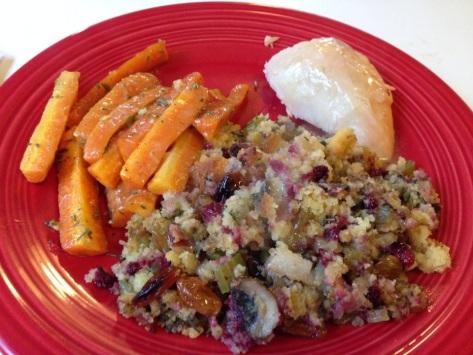 Cranberry Cornbread Stuffing | Alaska Knit Nat