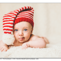 Baby Candy Cane Stocking Cap -- Free Pattern