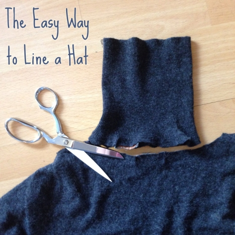 The Easy Way to Line a Hat | Alaska Knit Nat
