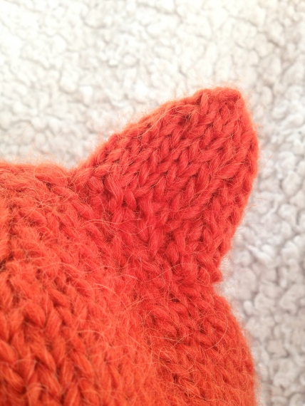 Simple Fox Hat -- Free Pattern | Alaska Knit Nat