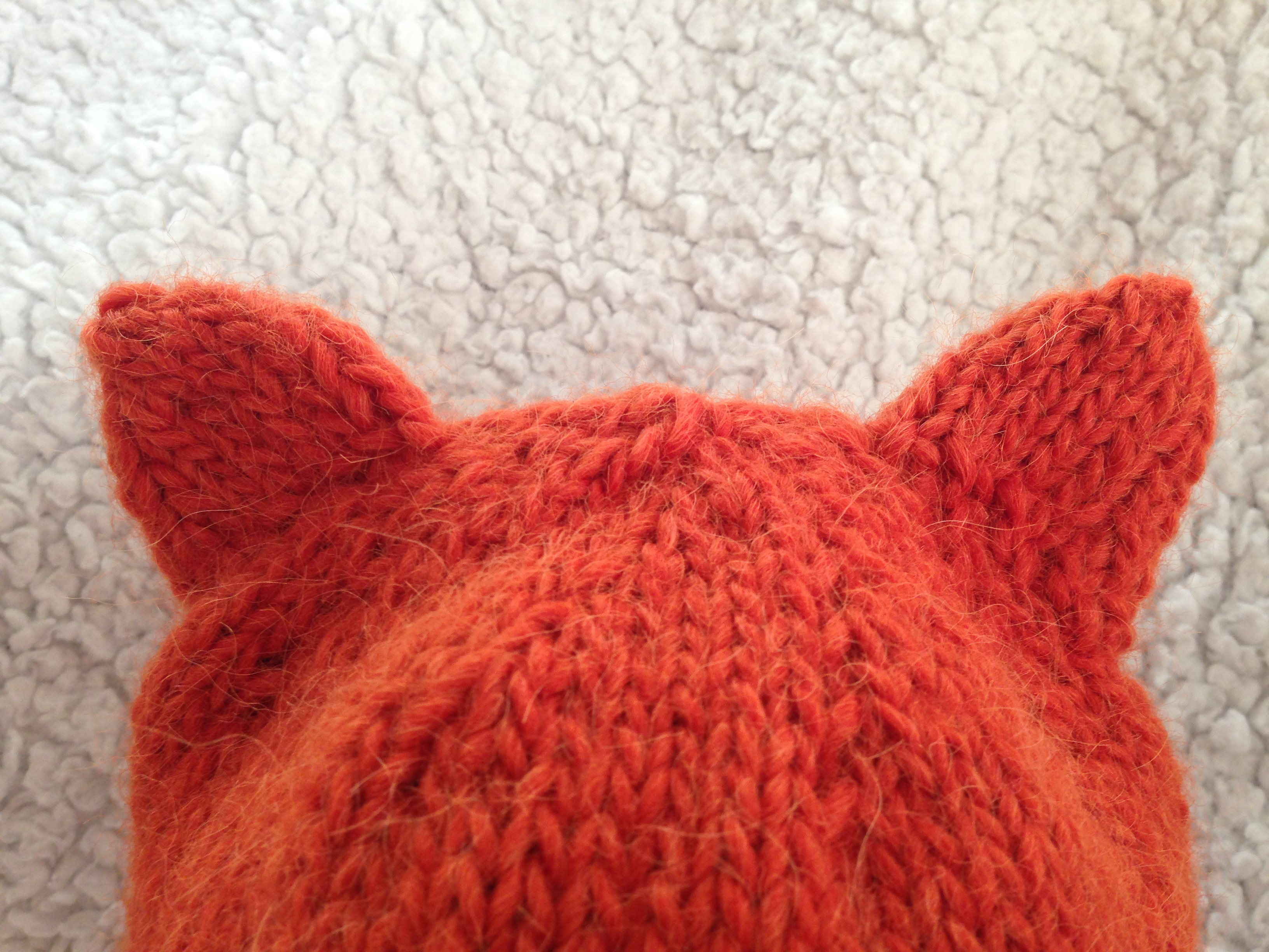 Knit Nat  Simple Fox Hat -- Free Pattern 33786d3f32d