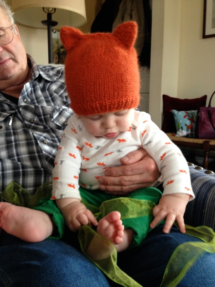 Simple Fox Hat -- Free Pattern | Alaska Knit Nat