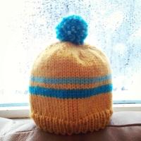 Retro Baby Ski Hat -- Free Pattern