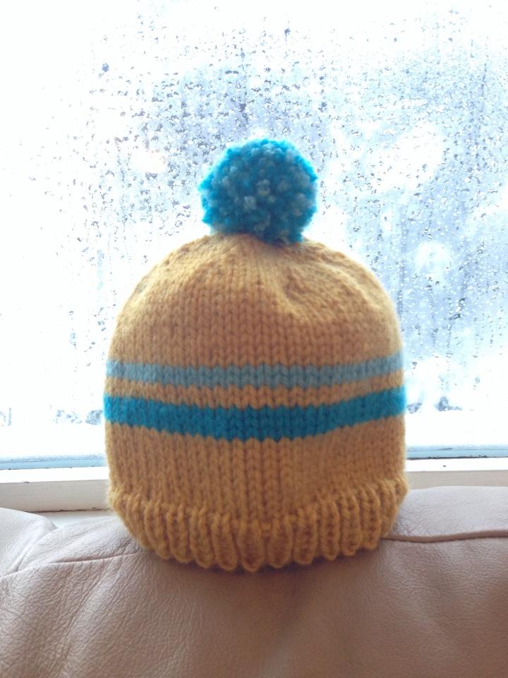 Knitting Pattern Ski Hat : Retro Baby Ski Hat   Free Pattern Alaska Knit Nat