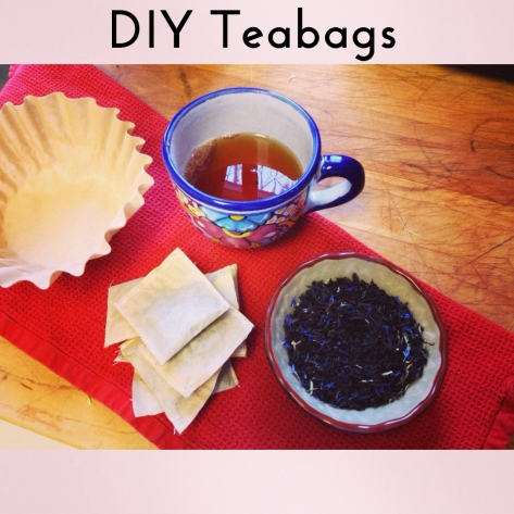 DIY Tea Bags | Alaska Knit Nat