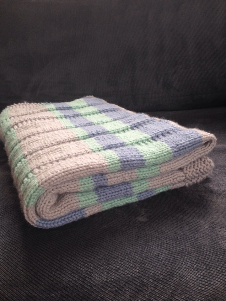Free Knitting Pattern For Striped Baby Blanket : 301 Moved Permanently