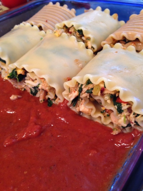 Chicken Enchilada Roll-ups | Alaska Knit Nat