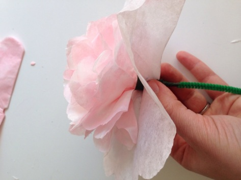 DIY Coffee Filter Flowers | Alaska Knit Nat