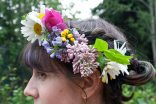 Wildflower crown | Alaska Knit Nat