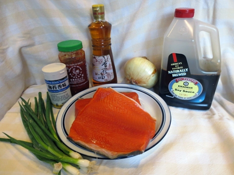 Wild Alaska Salmon Poke | Alaska Knit Nat