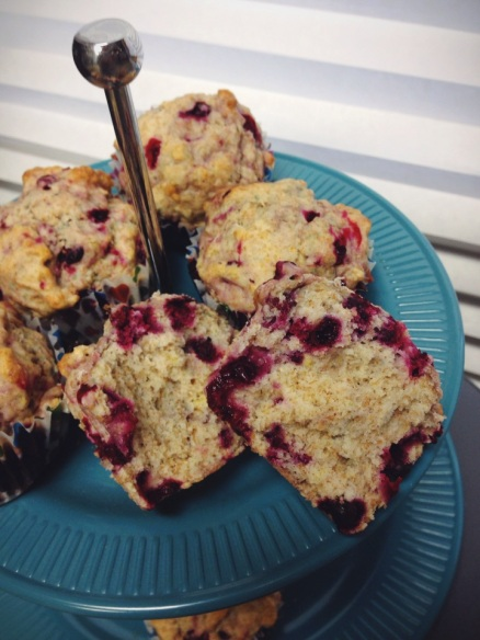 Wild Cranberry & Lemon Muffins | Healthy Recipe from Alaska Knit Nat