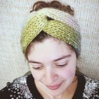 Brioche Turban -- A Free Pattern