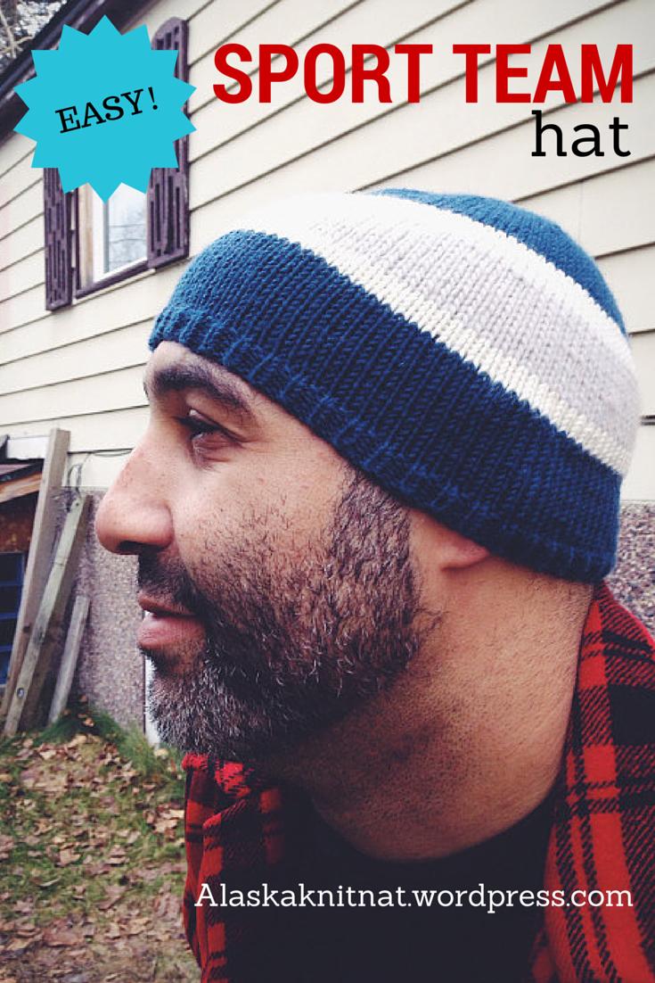 Sports Team Hat — A Free Knitting Pattern | Alaska Knit Nat