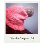Slouchy Pompom Hat