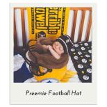 Preemie Football Hat