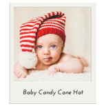 Baby Candy Cane Hat