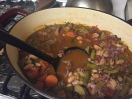 Vegetable and Sausage Soup