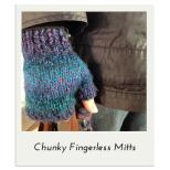 Chunky Fingerless Mitts