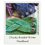 Chunky Braided Winter Headband