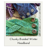 Chunky Braided Winter Headband