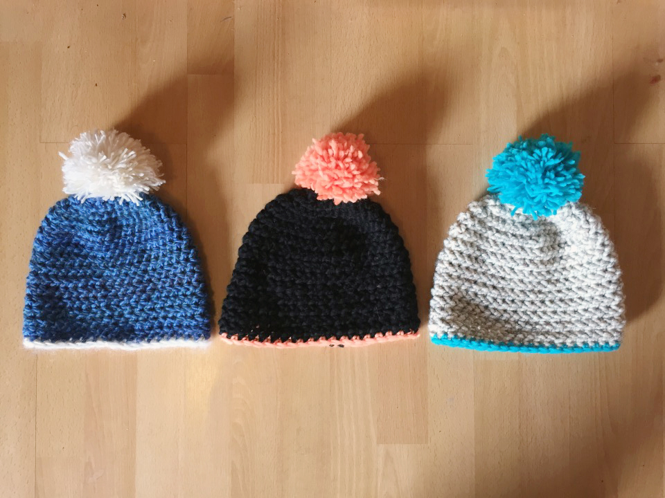 Quick, Chunky Crochet Hat with Pompom - A Free Pattern from Alaska ...
