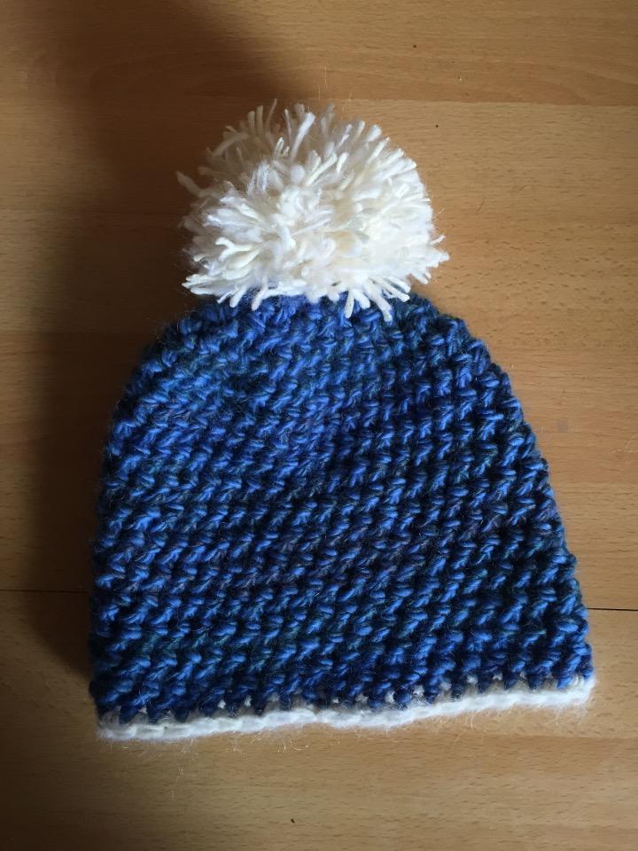 Quick Chunky Crochet Hat  6e6a893b659