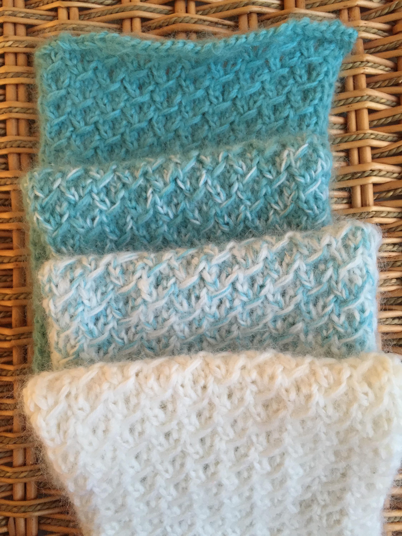 Fuzzy Ombre Scarflet — A Free Knitting Pattern | Alaska Knit Nat