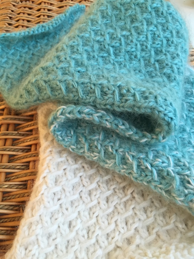 Fuzzy Ombre Scarflet — A Free Knitting Pattern