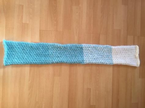 Fuzzy Ombre Scarflet | A Free Pattern from Alaska Knit Nat