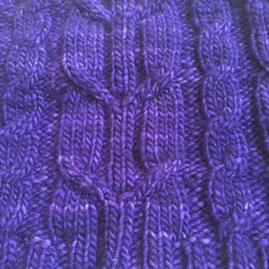 Malabrigo cable cowl | Alaska Knit Nat