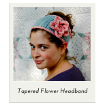 Tapered Flower Headband