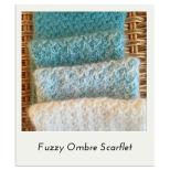 Fuzzy Ombre Scarflet
